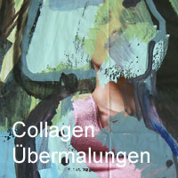Collagen, Übermalungen